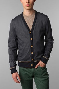 1. urban has a whole section for just men's cardigans #win 2. were do i purchase those pants?