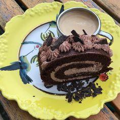 La gourmandise c'est bon..miam ! Dark Chocolate Roll with MascarponeChocolate Hazelnut Vanilla Cream and Italian Espresso #luchiachia #luchiacookbook is available on Amazon.com #chef #pastrychef #cookbook #cheflife #truecooks #foodmagazine #chefconsultant #chefsofinstagram #foodblog #foodblogger #chocolateroll #gourmandise #delicious #homemade #cooking is #amazing #beautiful #foodiegram #foodie #instafood #foodlover #siliconvalley #sanfrancisco #bayarea #california