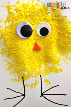 baby chick easy spring craft for kids crafts for toddlers Easy Spring Chick Craft for Kids Easter Crafts For Toddlers, Easy Easter Crafts, Easter Art, Daycare Crafts, Classroom Crafts, Easter Crafts For Kids, Easy Preschool Crafts, Spring Toddler Crafts, Easy Toddler Crafts