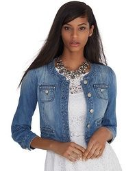 Saint Honore Quilted Denim Jacket