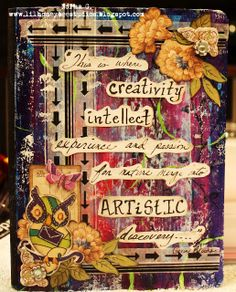 By creating and decorating a journal I know i have a safe space to write and express myself. To do this you would need a journal, an open mind, pencils or pens, pictures, words, quotes, and anything in between to decorate and write in your journal. By doing this, i know i can express myself without fear or judgement. You can write about anything you want!