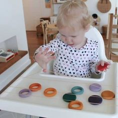 Baby Sensory Play, Baby Play, Activities For Kids, Crafts For Kids, Play Gym, Montessori Baby, Over The Top, Toddler Play, Jewelry Tree