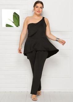 Buy Women's Jumpsuit Sleeveless Solid Color Fashion Jumpsuit & Jumpsuits - at Jolly Chic Prom Jumpsuit, Sparkly Jumpsuit, Petite Jumpsuit, Jumpsuit Dressy, Plus Size Jumpsuit, Lace Jumpsuit, Jumpsuit Style, Velvet Jumpsuit, Floral Jumpsuit