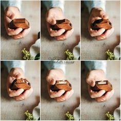 Ring display box - engagement ring box - diamond shape walnut wood ring box by Woodstorming Diamond Shaped Engagement Ring, Engagement Box, Engagement Ring Shapes, Proposal Ring Box, Proposal Ideas, Wooden Ring Box, Wooden Boxes, Wooden Art, Wedding Ring Box