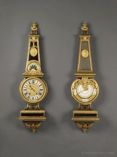 A Louis XIV Tortoiseshell Clock and Barometer Set by ANDRE-CHARLES BOULLE - Adrian Alan