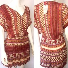 For Sale: Eclectic Boho Style Romper  for $24