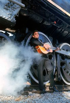 Johnny Cash. The Man In Black. Growing up on a farm during the great depression, Cash enlisted in the army to try and earn more money for his family. He moved to Memphis and made it as a musician, using his upbringing to craft some amazing lyrics.
