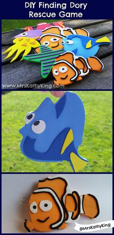 Finding Dory Party Idea: Rescue Dory Game #FindingDory