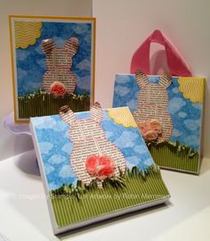 Trinity Designs: Celebrate Spring! - Sweet Bunny with Video Tutorial!