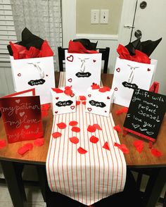 My take on the Five Senses gifts, did this for my husband this year as our first Valentine's Day as husband and wife!