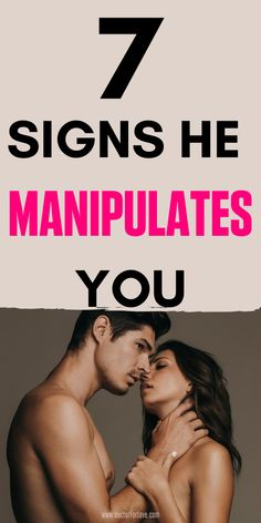7 Signs of Manipulation in a Relationship. Intimacy In Marriage, Happy Marriage, Marriage Advice, Relationship Coach, Relationship Problems, Relationship Quotes, Signs Of Manipulation, The Perfect Girlfriend, Make Him Want You