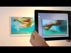 Summer Show Demo of Augmented Reality Art Powered by Aurasma - YouTube