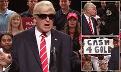 Baldwin spoofs Trump's Arizona rally in SNL sketch | Daily Mail Online