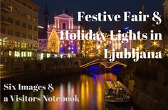 Festive Fair and Holiday Lights in Ljubljana, 2015