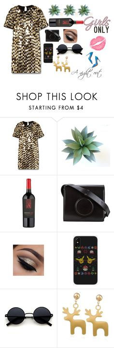 """""""A night out"""" by emojijill on Polyvore featuring Rachel Zoe, Lemaire and M. Gemi"""