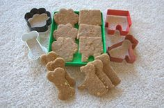 """Peanut butter """"Dog"""" biscuits"""