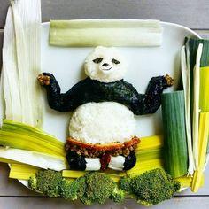 Kung Fu Panda #kungfupanda #party #foodart #funfood #funnyfood #cutefood #donkeyandthecarrot
