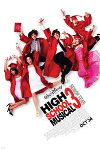 High School Musical 3: Senior Year (2008) stars Zac Efron and Vanessa Hudgens, Ashley Tisdale and Lucas Grabeel.