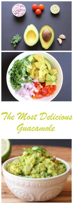 The Most Delicious Guacamole Recipe! Read More…
