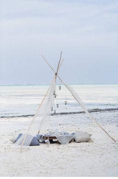 Beach Elopement at Zanzibar by Melli & Shayne Photography