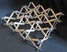deployable structures - Google Search Kinetic Architecture, Architecture Design, Folding Structure, Arch Model, Math Art, Kinetic Art, 3d Prints, Motion Design, Design Process