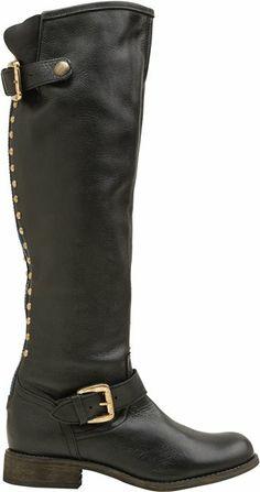 Steve Madden Lynet back zip boot. http://www.swell.com/Womens-Boots/STEVE-MADDEN-LYNET-BACK-ZIP-BOOT?cs=BL