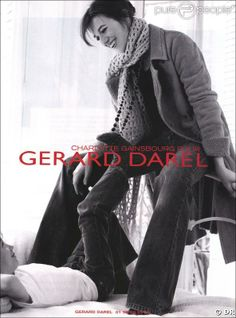 Charlotte Gainsbourg for Gérard Darel