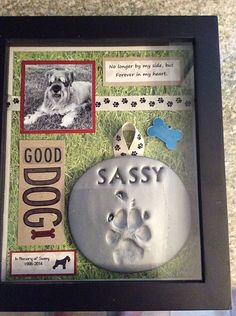 Shadow box in memory of my Sassy Girl. Schnauzers are the best dogs. - Shadow box in memory of my Sassy Girl. Schnauzers are the best dogs. Dog Shadow Box, Game Mode, Pet Remembrance, Dog Memorial, Memorial Ideas, Memorial Quotes, Memorial Tattoos, Dog Crafts, Dog Cat