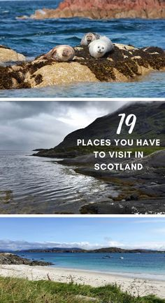 Where to Go In Scotland...19 of the Best Places to Visit | If you're looking for trip inspiration or planning a visit to Scotland, here are some of the most beautiful & interesting places. Scotland road trip ideas, the beaches of Harris & Lewis, Isle of Skye, standing stones, Highlands, hiking, wildlife, castles, and more! What to do in Scotland, Scotland itinerary tips. #scotland #roadtrip #uk Scotland Travel Guide, Europe Travel Guide, Travel Guides, European Destination, European Travel, Honeymoon In Scotland, Uk Destinations, Hiking Photography, Solo Travel