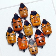 Another Face In The Crowd Man Face Beetle by REALBUTTERFLYGIFTS