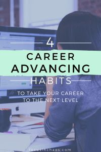 Advancing in your career can be difficult when you don't know where to turn or what to do to get noticed by your boss. Take your career to the next level with these career advancing habits you need to start today! Career Success, Career Coach, Career Change, Career Advice, Career Planning, Career Development, Professional Development, Professional Resume, Personal Development