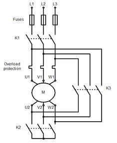 forward and reverse motor starter wiring diagram elec. Black Bedroom Furniture Sets. Home Design Ideas