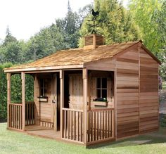 Small Ranch House that could be built from pallets. This one isn't of course.
