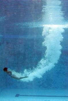 Diving Into The Blue