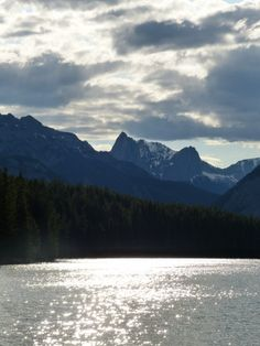 Landscape around Banff Canada