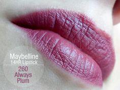 Maybelline, SuperStay, 14HR Lipstick, 260 Always Plum