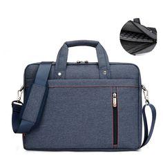 13 14 15 17 Inch Big Size Nylon Computer Laptop Bag Solid Notebook Tablet Bags Case Messenger Shoulder Unisex Men Women Durable Price: USD 32.99 | USA
