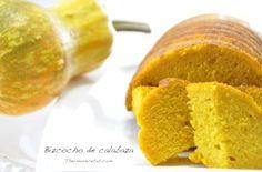 Bizcocho de calabaza  - http://www.thermorecetas.com/2013/11/13/bizcocho-de-calabaza/