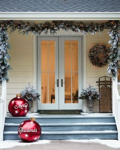 Bring home the beauty of winter with handcrafted arrangements of frosted evergreen foliage and pinecone accents. Our wreath features heavier flocking on the upper portion to create a lifelike, snow-fallen effect, while the garland is crafted with a natural draping design that adds drama to your displays.