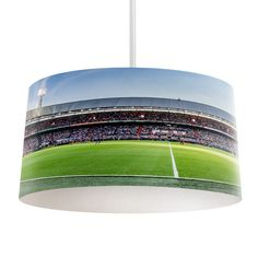 Lampenkap Feyenoord stadion   Bestel lampenkappen voorzien van digitale print op hoogwaardige kunststof vandaag nog bij YouPri. Verkrijgbaar in verschillende maten en geschikt voor diverse ruimtes. Te bestellen met een eigen afbeelding of een print uit onze collectie. #lampenkap #lampenkappen #lamp #interieur #interieurdesign #woonruimte #slaapkamer #maken #pimpen #diy #modern #bekleden #design #foto #feyenoord #club #voetbal #voetballen #supporter #rotterdam #stadion #voetbalveld #sport