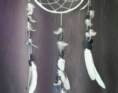 Dreamcatcher / Necklace / Boho chic jewellery / von NatsHandcraft