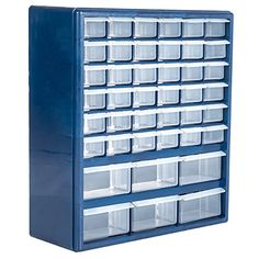 Stalwart 75-3021 Deluxe 42 Drawer Compartment Storage Box
