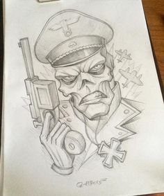 Red Skull from Caprain America. Cartoon Drawings, Avengers Drawings, Sketch Book, Skull Art Drawing, Art Drawings, Scary Drawings, Graffiti Characters, Graffiti Drawing, Marvel Drawings