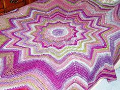 Ravelry: Mosaic Afghan pattern by Bernat Design Studio