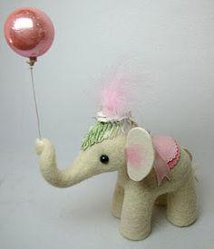 Awe!  Baby girl circus elephant!
