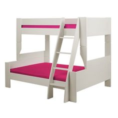 Popsicle 1136 Twin-over-Full Bunk Bed