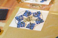 Fused Glass Snowflakes - йоЖЖик из тумана - Следующий отчёт по ёлочным игрушкам в КС