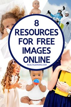 Where to find free images online.