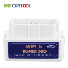 Lucky Deal $8.59, Buy TOP Super Mini Wifi ELM327 ElM 327 Wifi V1.5 OBD 2 II Car Diagnostic Tool OBD2 Scanner Interface Support Android & IOS System