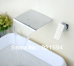 2014 New Arrived Wall Mount Two Holes Single Handle Bathroom faucet basin Mixer tap  $80 plus shipping